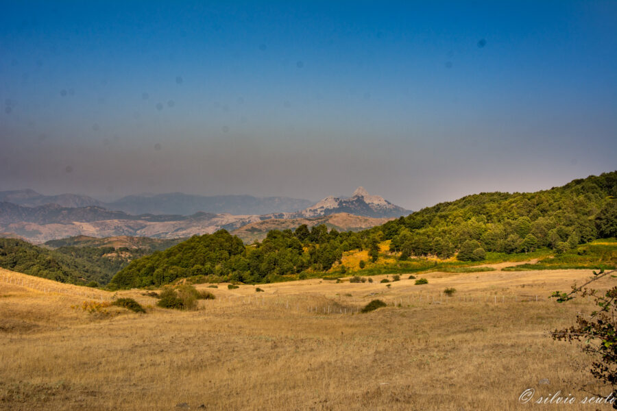 Pizzo Novara vista d'estate